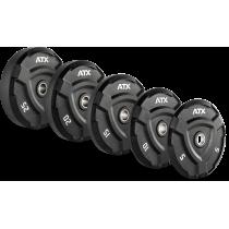 Obciążenie gumowane olimpijskie ATX® 50-ATX-FQX   waga: 5kg ÷ 25kg ATX® - 11   klubfitness.pl