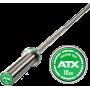 Gryf olimpijski prosty 170cm ATX® LH-50-ATX-T10 | Training Bar 10kg ATX® - 1 | klubfitness.pl