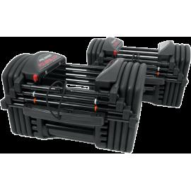 Hantle regulowane PowerBlock Pro Exp Set 5-50 | waga 2,2÷22,7kg | para PowerBlock - 1 | klubfitness.pl