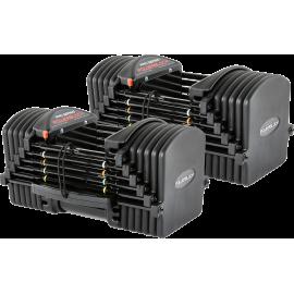 Hantle regulowane PowerBlock Pro Exp Set 5-70 | waga 2.2÷31.7kg | para PowerBlock® - 1 | klubfitness.pl