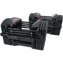 Hantle regulowane PowerBlock Pro Exp Set 5-70 | waga 2,2÷31,7kg | para PowerBlock - 6 | klubfitness.pl