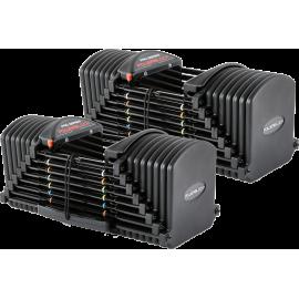 Hantle regulowane PowerBlock Pro Exp Set 5-90 | waga 2.2÷40.8kg | para PowerBlock® - 1 | klubfitness.pl