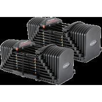 Hantle regulowane PowerBlock Pro Exp Set 5-90   waga 2.2÷40.8kg   para PowerBlock® - 1   klubfitness.pl