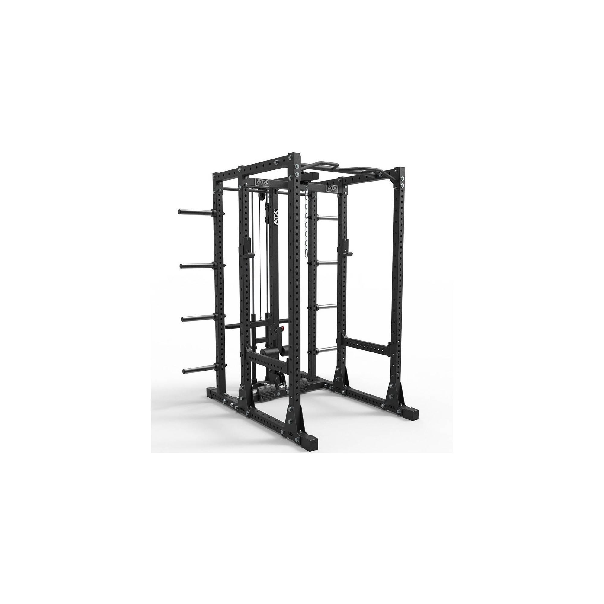 Klatka treningowa ATX® PRX-750-EXT-SET-250 Power Rack | wyciąg linowy wolne obciążenia ATX® - 1 | klubfitness.pl