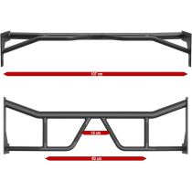 Klatka treningowa ATX® PRX-750-EXT-SET-250 Power Rack | wyciąg linowy wolne obciążenia ATX® - 5 | klubfitness.pl