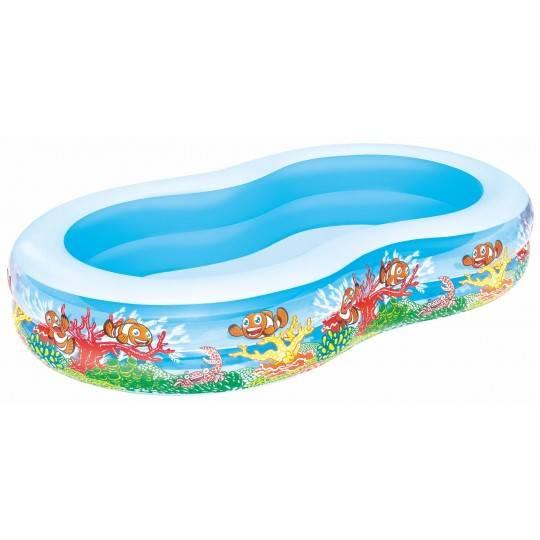 Basen pompowany dla dzieci Bestway Play Pool 262x157x46cm | 54118 Bestway - 1 | klubfitness.pl