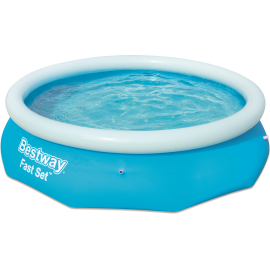 Basen pompowany Bestway Fast Set Pool 305x76cm | 57266 blue Bestway - 1 | klubfitness.pl