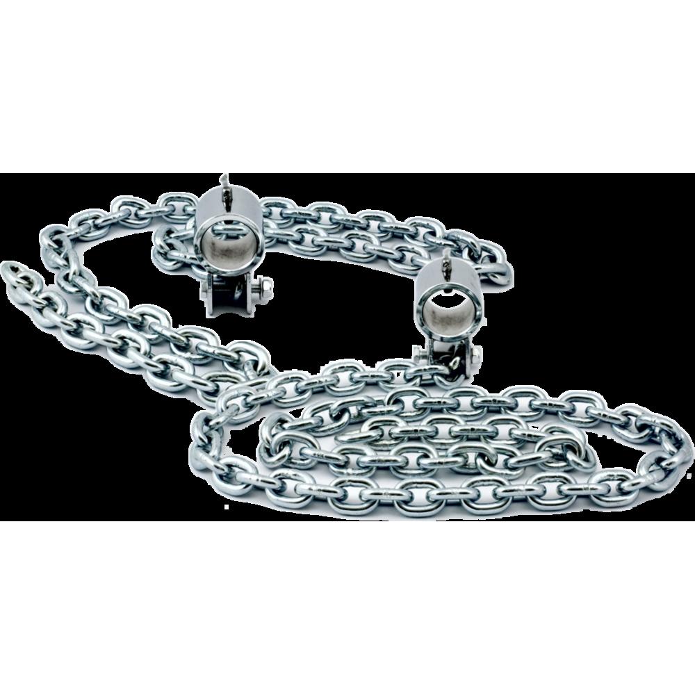 Łańcuchy obciążeniowe na gryf olimpijski HMS GR10 | 2x5kg HMS - 1 | klubfitness.pl