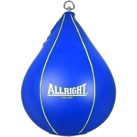 Gruszka bokserska refleksówka Allright podwieszana | niebieska ALLRIGHT - 1 | klubfitness.pl