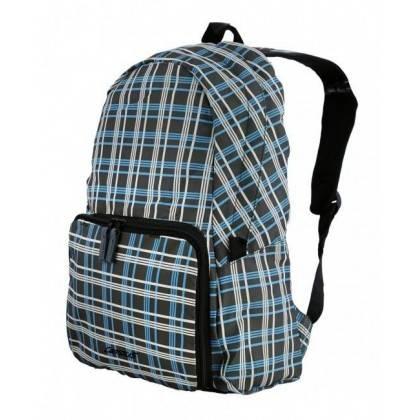 Plecak składany Campus Pack 15   grafitowy kratka   15 litrów Campus - 1   klubfitness.pl