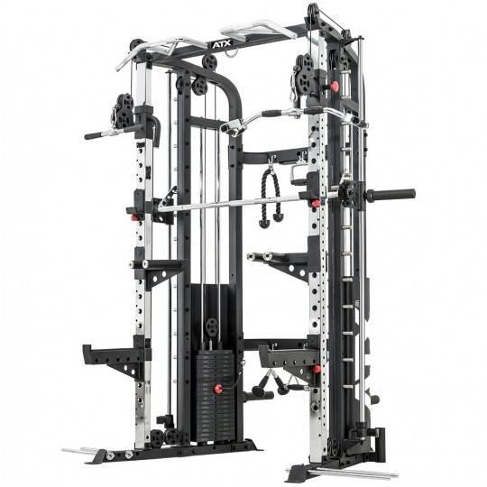 Brama wielofunkcyjna z suwnicą Smith'a ATX® MFR-720 Monster | stosy 2x100kg ATX® - 1 | klubfitness.pl