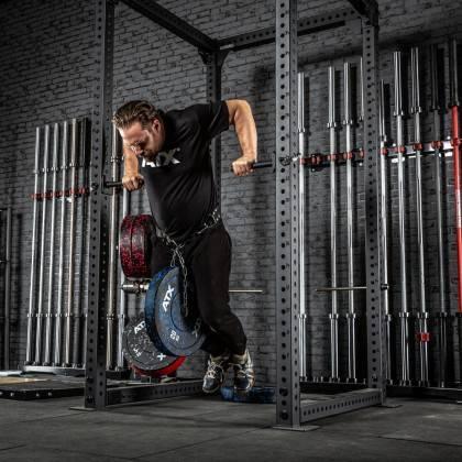 Poręcze do przysiadów ATX® SQHAN Safety Squat Bar | seria 800 ATX® - 5 | klubfitness.pl