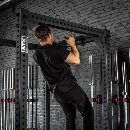 Poręcze do przysiadów ATX® SQHAN Safety Squat Bar | seria 800 ATX® - 3 | klubfitness.pl