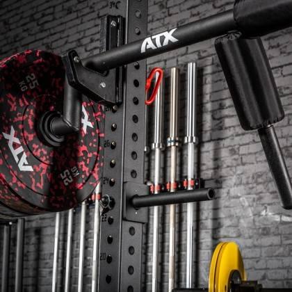 Poręcze do przysiadów ATX® SQHAN Safety Squat Bar | seria 800 ATX® - 9 | klubfitness.pl