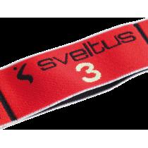 Elastyczna taśma do ćwiczeń Elastiband® 10kg | długość 90cm | czerwona Sveltus - 2 | klubfitness.pl