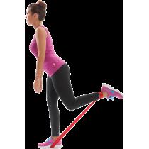 Elastyczna taśma do ćwiczeń Elastiband® 10kg | długość 90cm | czerwona Sveltus - 3 | klubfitness.pl