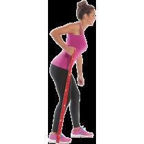 Elastyczna taśma do ćwiczeń Elastiband® 10kg | długość 90cm | czerwona Sveltus - 5 | klubfitness.pl