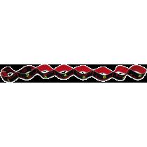 Elastyczna taśma do ćwiczeń Elastiband® 15kg | długość 90cm | czarna Sveltus - 3 | klubfitness.pl