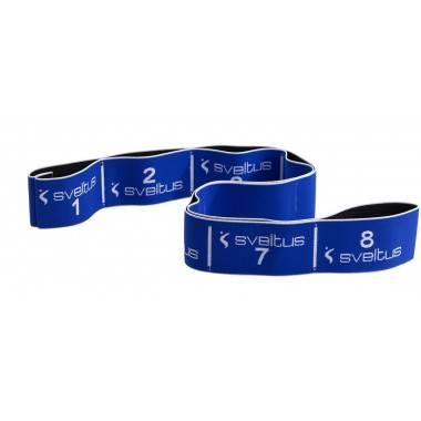 Elastyczna taśma do ćwiczeń Elastiband® 20kg   długość 90cm   niebieska Sveltus - 1   klubfitness.pl