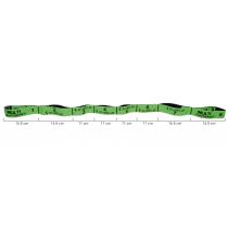 Elastyczna taśma do ćwiczeń Elastiband® Multi 10kg | długość 110cm | zielona Sveltus - 6 | klubfitness.pl