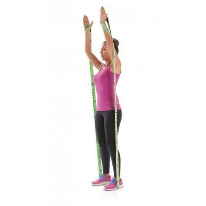 Elastyczna taśma do ćwiczeń Elastiband® Multi 10kg | długość 110cm | zielona Sveltus - 7 | klubfitness.pl