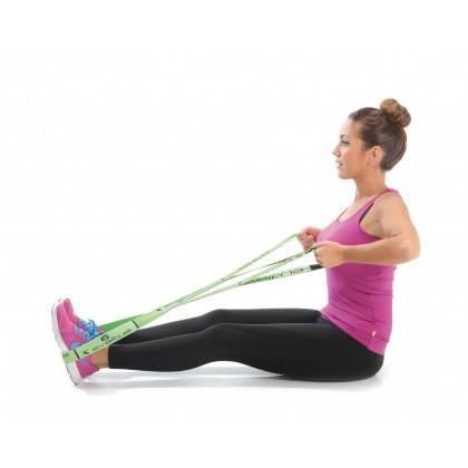 Elastyczna taśma do ćwiczeń Elastiband® Multi 10kg | długość 110cm | zielona Sveltus - 8 | klubfitness.pl