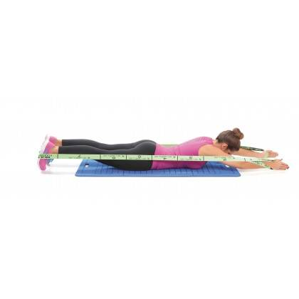 Elastyczna taśma do ćwiczeń Elastiband® Multi 10kg | długość 110cm | zielona Sveltus - 10 | klubfitness.pl