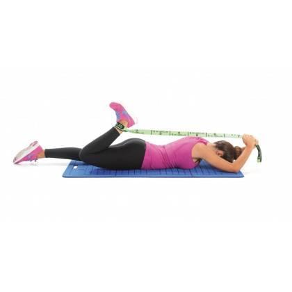 Elastyczna taśma do ćwiczeń Elastiband® Multi 10kg | długość 110cm | zielona Sveltus - 11 | klubfitness.pl