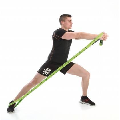 Elastyczna taśma do ćwiczeń Elastiband® Multi 10kg | długość 110cm | zielona Sveltus - 2 | klubfitness.pl