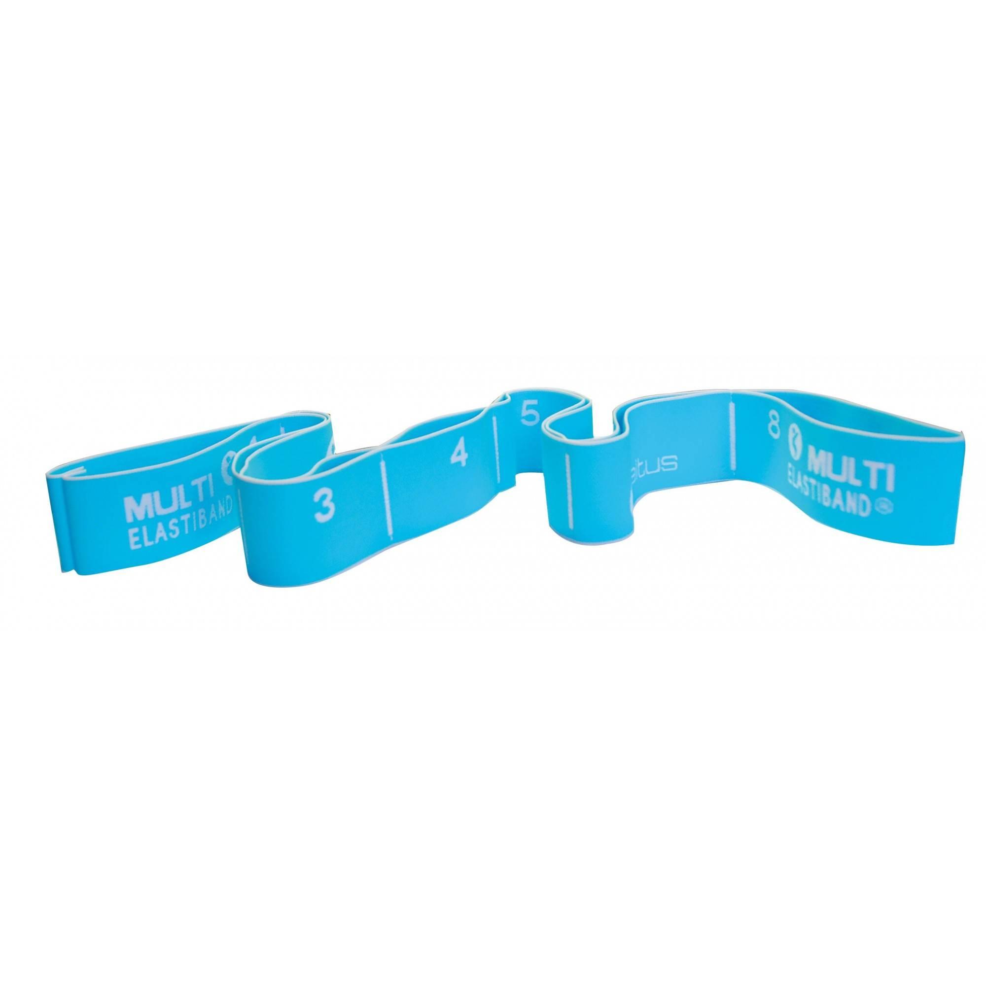 Elastyczna taśma do ćwiczeń Elastiband® Multi 20kg   długość 110cm   niebieska Sveltus - 1   klubfitness.pl