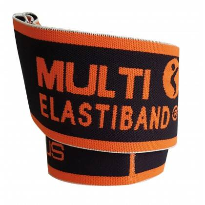 Elastyczna taśma do ćwiczeń Elastiband® Multi 30kg | długość 110cm | czarna Sveltus - 4 | klubfitness.pl