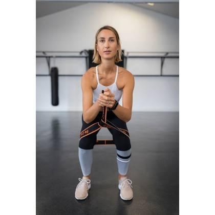 Elastyczna taśma do ćwiczeń Elastiband® Multi 30kg | długość 110cm | czarna Sveltus - 9 | klubfitness.pl