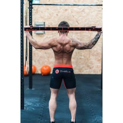 Elastyczna taśma do ćwiczeń Elastiband® Multi 30kg | długość 110cm | czarna Sveltus - 13 | klubfitness.pl