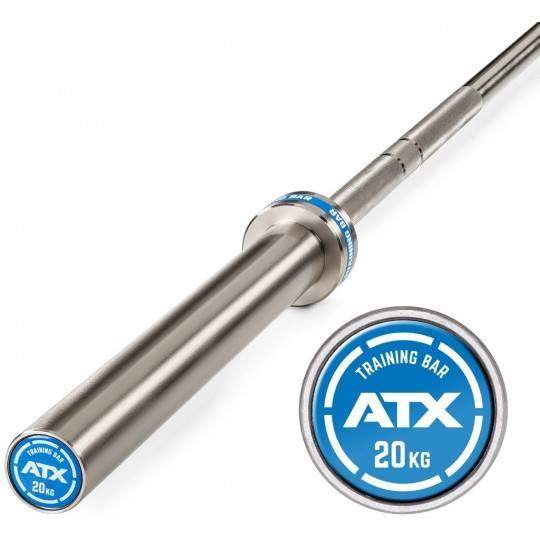 Gryf olimpijski 220cm LH-50-ATX-T20C ATX® | Training Bar Chrome ATX® - 1 | klubfitness.pl