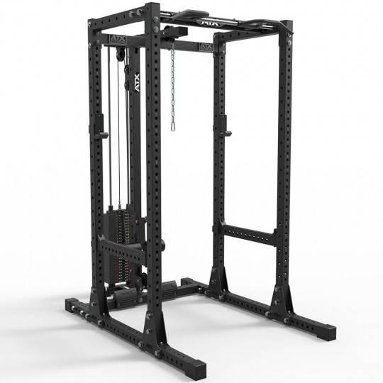 Klatka treningowa ATX® PRX-750-SET-160 Power Rack | wyciąg linowy 125kg ATX® - 1 | klubfitness.pl