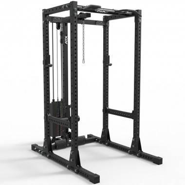 Klatka treningowa ATX® PRX-750-SET-160 Power Rack   wyciąg linowy 125kg ATX® - 1   klubfitness.pl
