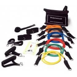 Zestaw ekspanderów Bodylastics® BL-1000-S gumowych z uchwytami   Level 1-6 Bodylastics - 9   klubfitness.pl