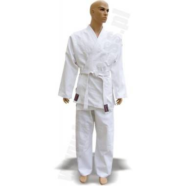 Kimono do judo z pasem Fighter | 16oz | białe,producent: FIGHTER, zdjecie photo: 2 | online shop klubfitness.pl | sprzęt sportow