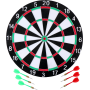 Tarcza dart Masterdarts ∅40,5cm dwustronna   ostre rzutki Masterdarts - 1   klubfitness.pl