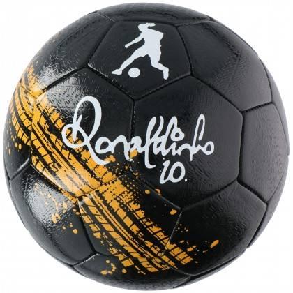 Piłka nożna Ronaldinho czarna - 1   klubfitness.pl