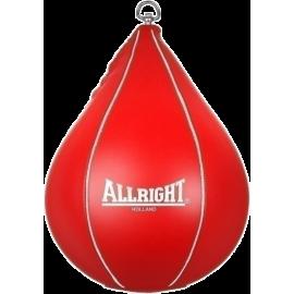 Gruszka bokserska refleksówka Allright podwieszana | czerwona ALLRIGHT - 1 | klubfitness.pl