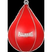 Gruszka bokserska refleksówka Allright podwieszana   czerwona ALLRIGHT - 1   klubfitness.pl