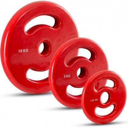 Obciążenie Ironsports® 30-D winylowe 30mm   waga 0.5kg ÷ 10kg IRONSPORTS - 6   klubfitness.pl