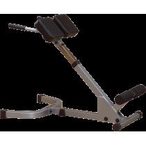 Ławka mięśnie grzbietu PHYP200X Powerline 45° Back Hyperextension   unoszenie tułowia Powerline - 1   klubfitness.pl