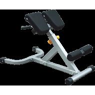 Stanowisko hyperextension 45° IF-45 Impulse Fitness | unoszenie tułowia pod skosem IMPULSE - 1 | klubfitness.pl