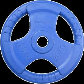 Obciążenie olimpijskie Sportop 20kg blue | gumowane VICTORIA-SPORT - 1 | klubfitness.pl