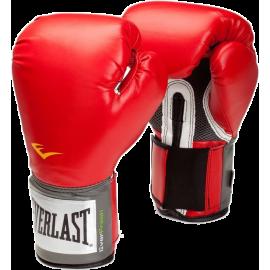 Rękawice bokserskie Everlast EVH2100 Pro Style Training | czerwone Everlast - 1 | klubfitness.pl