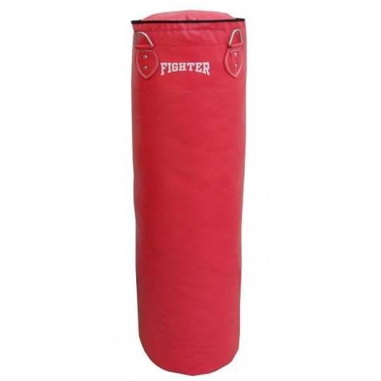Worek bokserski FIGHTER 180x30cm czerwony z wypełnieniem,producent: FIGHTER, zdjecie photo: 1 | online shop klubfitness.pl | spr