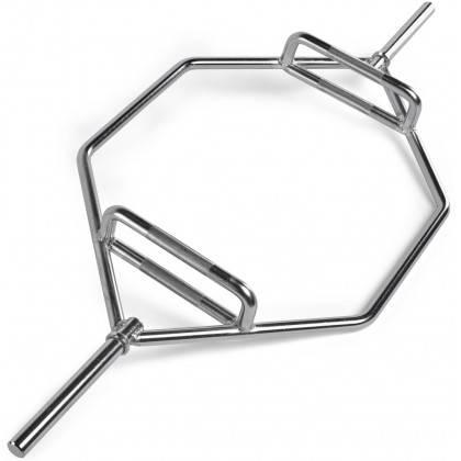 Gryf hex Ironsports® 30-HEX-BAR-C chromowany   średnica ∅30mm IRONSPORTS - 1   klubfitness.pl