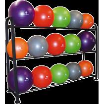 Stojak na piłki gimnastyczne Sveltus GymBall Rack   na 15 piłek Sveltus - 1   klubfitness.pl